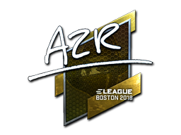 Sticker | AZR (Foil) | Boston 2018