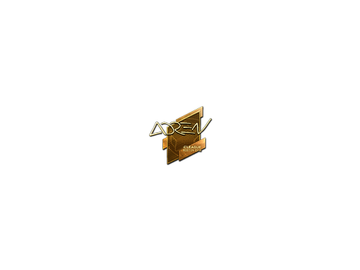 Sticker | AdreN (Gold) | Boston 2018