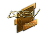 Skin Sticker | AdreN (Gold) | Boston 2018