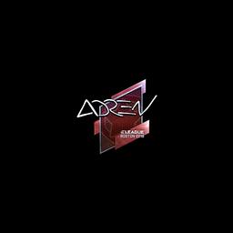 Sticker   AdreN (Foil)   Boston 2018