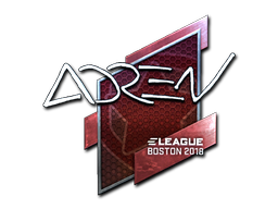 Sticker | AdreN (Foil) | Boston 2018