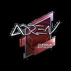 Sticker | AdreN (Foil) | Boston 2018