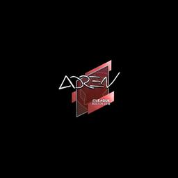 Sticker | AdreN | Boston 2018