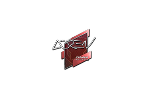 Sticker Adren Boston 2018