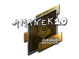 Sticker | AmaNEk (Foil) | Boston 2018