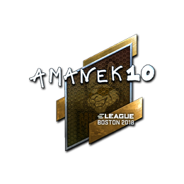 AmaNEk (Foil) | Boston 2018