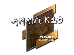 Sticker | AmaNEk | Boston 2018
