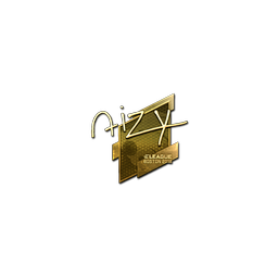Sticker | aizy (Gold) | Boston 2018