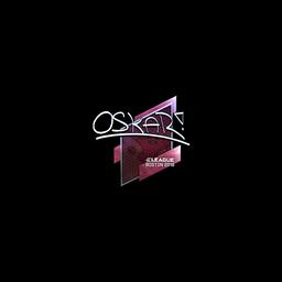 Sticker   oskar (Foil)   Boston 2018