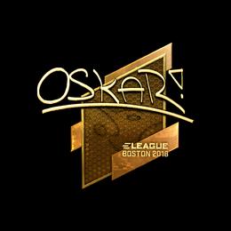 oskar (Gold) | Boston 2018