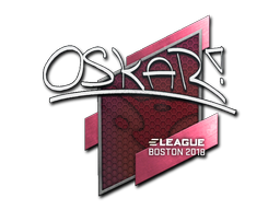 Sticker | oskar | Boston 2018