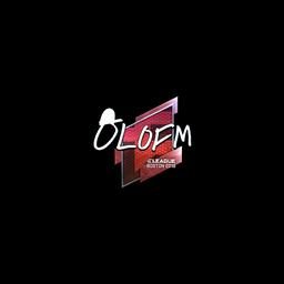 free csgo skin Sticker | olofmeister (Foil) | Boston 2018