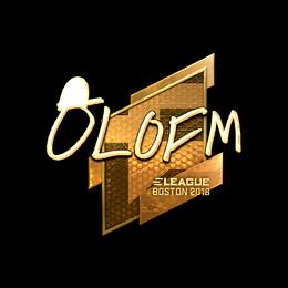 olofmeister (Gold) | Boston 2018