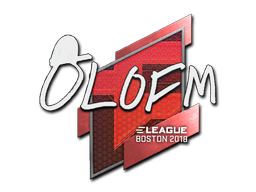 Sticker | olofmeister | Boston 2018