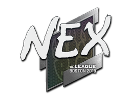 Sticker | nex | Boston 2018
