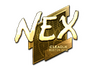 Skin Sticker | nex (Gold) | Boston 2018