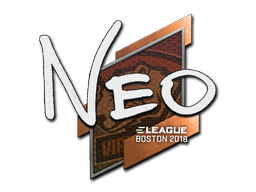 Sticker | NEO | Boston 2018