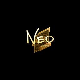 Sticker | NEO (Gold) | Boston 2018