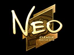 NEO | Boston 2018