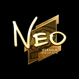 NEO (Gold) | Boston 2018