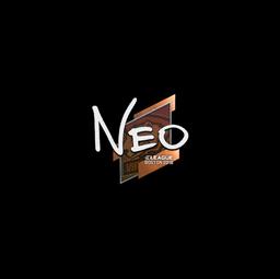 Sticker   NEO   Boston 2018