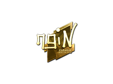 Skin Sticker | ngiN (Gold) | Boston 2018