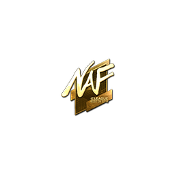 Sticker | NAF (Gold) | Boston 2018