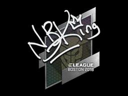 Sticker | NBK- | Boston 2018