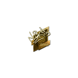 Sticker | NBK- (Gold) | Boston 2018