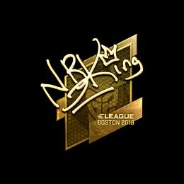 NBK- (Gold) | Boston 2018