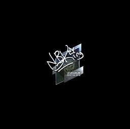 Sticker   NBK- (Foil)   Boston 2018