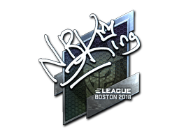 Sticker | NBK- (Foil) | Boston 2018