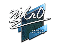 Sticker | nitr0 | Boston 2018