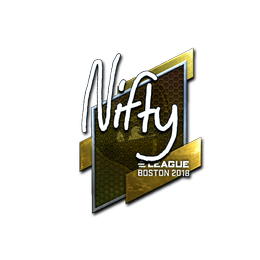 Nifty (Foil) | Boston 2018