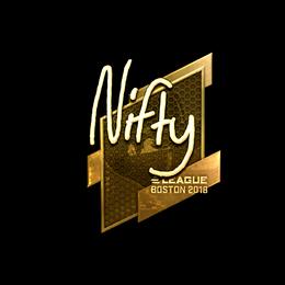 Nifty (Gold) | Boston 2018