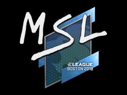 MSL | Boston 2018