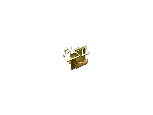 Sticker | MSL (Gold) | Boston 2018