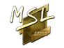 Skin Sticker | MSL (Gold) | Boston 2018