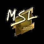 Sticker | MSL (Gold) | Boston 2018