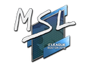 Sticker | MSL | Boston 2018