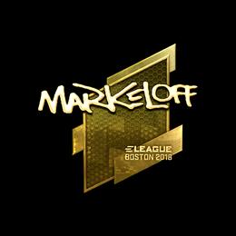 markeloff (Gold) | Boston 2018
