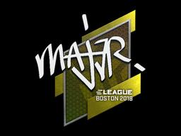 MAJ3R | Boston 2018