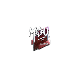 Sticker | mou (Foil) | Boston 2018