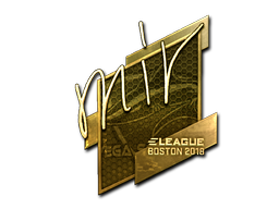Sticker | mir (Gold) | Boston 2018