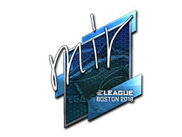 Sticker | mir (Foil) | Boston 2018