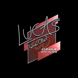 LUCAS1 | Boston 2018