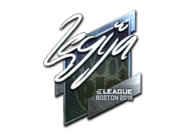 Sticker | LEGIJA (Foil) | Boston 2018