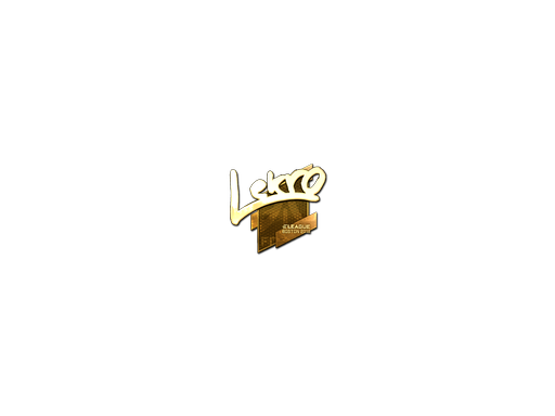 Sticker | Lekr0 (Gold) | Boston 2018