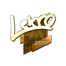 Lekr0 (Gold) | Boston 2018