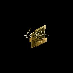 Sticker | LoveYY (Gold) | Boston 2018